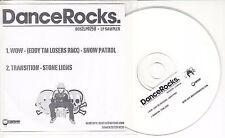 Dance Rocks UK 2-track promo only sampler CD Snow Patrol Stone Lions BOS2LP025B