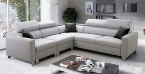 Brand New Corner Sofa Bed With Storage Loretto IV