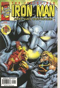 °THE INVINCIBLE IRON MAN #25 ULTIMATE DANGER PART 3° US Marvel 1998 Kurt Busiek