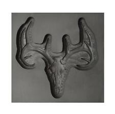 Large Deer Skull 3D Graphite Ingot Mold Silver Gold Copper Tin Metal Casting