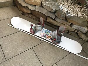 Snowboard Board Light ca. 145 cm inkl Head Bindung