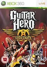 Xbox 360 Game Guitar Hero Aerosmith MINT