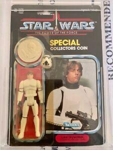 Star wars LAST 17 Power of the Force- Luke Stormtrooper.
