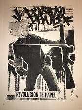 BAST Revolution De Papel 2006 Art Print Pictures On Walls Street Art Graffiti