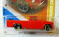 Red Enamel 2011 NEW MODELS Hot Wheels '63 STUDEBAKER CHAMP 29/244