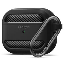Apple AirPods Pro Case | Spigen® [Rugged Armor] Protective Shockproof Cover