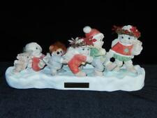 Vintage Dreamsicles Figurine, Holiday On Ice, 1994,3rd. Ed., Gc