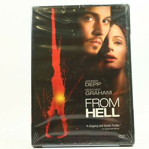 From Hell Johnny Depp Heather Graham DVD New R1 Sealed Free Track Post