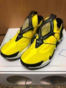 Nike Adapt Huarache Low-Cut Sneakers Yellow Bv6397-710 Men 27.5cm US9.5UK9 Japan