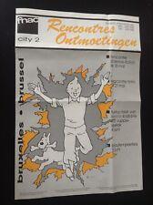 Rare journal Rencontres Fnac 1988 Tintin BE