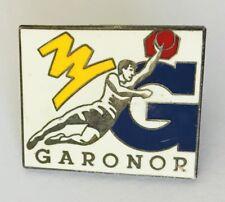 Garonor Brand Basketball Pin Badge Vintage Advertising (L38)