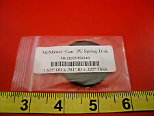 """McMaster Carr MCDS95950240 PU Spring Disk 1.625"""" OD x .781"""" ID x .125"""" Thick New"""