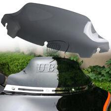 "Light Smoke 7"" Wave Windshield Windscreen for Harley Touring FLHT FLHX 2014-up"