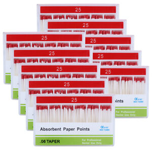 20Packs Dental Professional Gutta Percha Points PP.06 25# 100Pc/Pack