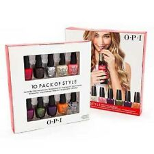 OPI Coca Cola Collection 10 Pack of Style .125oz Mini Nail Polish Set FREE SHIP!