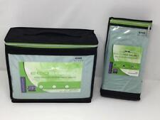 New Eco Sheex 100% Viscose Bamboo King Sheet Set Seafoam Matching Pillow Cases