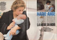 Coupure de presse Clipping 1985 Marie Ange Laroche affaire Villemin (4 pages)