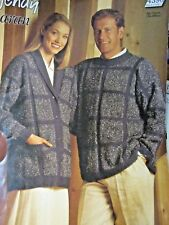 WENDY ARAN LADIES CARDIGAN & JUMPER LEAFLET NO.4390 / 34-44 INS.