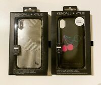 2 NIB Kendall + Kylie iPhone X/XS 10/10s Cases.