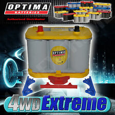 OPTIMA YELLOW TOP BATTERY 12 VOLT NEW AGM D34 750CCA DEEP CYCLE ALPINE PIONEER