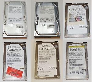 "Hitachi 80GB 160GB 250GB 500GB (3.5"") (2.5"") SATA IDE Various size HDD"