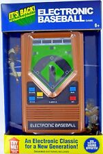 BASEBALL Handheld Electronic Game 70's Retro Mattel Classic Sounds Lights NEW