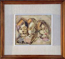 Erik Brandt (1910-1987): THREE CHILDREN
