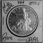 1877 S Trade Silver Dollar HIGH Grade Rare KEY US Coin Free Shipping #129198