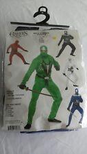 Charades Ninja Avenger Series ll Blue Adult 4PC Costume Sz X-Small