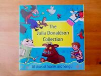 JULIA DONALDSON AUDIO CDS. INCLUDES THE GRUFFALO, GRUFFALO'S CHILD, TROLL. NEW