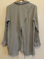 Seed Heritage Ladies Size 8 Long Sleeve Split Back Shirt