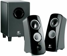 Logitech Z323 2.1-CH PC multimedia Speaker System (IL/PL1-5568-980-000354-UG)