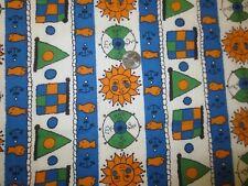 "2316. NOVELTY NAUTICAL Apparel or Craft COTTON PRINT Fabric - 44"" x 2 1/8 Yds."