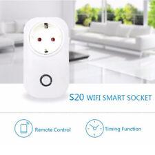 Sonoff S20 WIFI Smart Steckdose App Fernbedienung Home Socket Zeitschaltuh Neu_