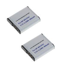2 baterías para Sony CyberShot dsc-w35