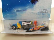 HOT WHEELS - ACTION PACK - SNOW PLOWERS - POWER PLOWER / BIG CHILL / FIGURES