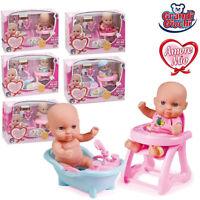 Amore Mio Dolce Bebe, Mini bambolotto con Accessori Grandi Giochi GG71152