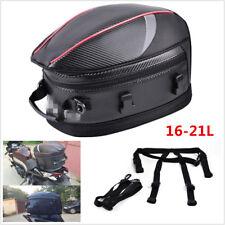 bd31f199c409 Waterproof Motorcycle Tail Bags Back Seat Bags Luggage Storage Rider Helmet  Pack
