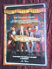THE LITTLE WILLIES  1 PAGE ADVERT  MAGAZINE CLIPPING / CUTTING