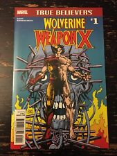 Wolverine Weapon X #1 (True Believers Reprint) Free Combine Shipping