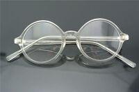 43/45/47/50/52/54/58mm Round Eyeglass frames Glasses Eyewear Vintage Clear Lens