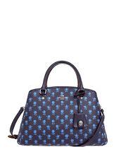 NWT Coach Badlands Floral Sm Margo Handbag Midnight Multi F 38215 $375