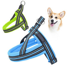 No Pull Dog Pet Harness Adjustable Reflective Handle Front For Small Dog Cat