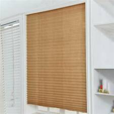 4 Sizes Sun Shade Blinds Polyester Window Drape Window Covers Pleated Curtain BL