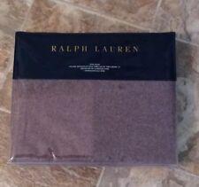 "NWT-RALPH LAUREN~1 KING SHAM~""RIVERPORT""~PURPLE~100% WOOL-MSRP $215"