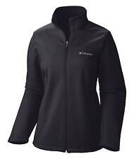 Columbia - Ladies Size S, M, L, XL, BLACK, Soft Shell Jacket Women's softshell