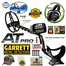 "Garrett AT Pro Metal Detector Waterproof with 5""x8"" Searchcoil, Hat, Headphones"