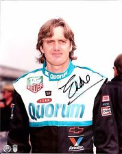 1993 EDDIE CHEEVER signed INDIANAPOLIS 500 8x10 PHOTO INDYCAR QUORUM CHEVY DNQ p
