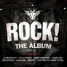ROCK ~ 3CD BOSTON,TOTO,MOTORHEAD,KROKUS,ELO,RATT,REEF STEPPENWOLF LOU REED Etc