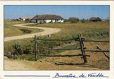 BF15253 bourrine de vendee maison faite en terre de mara france front/back image